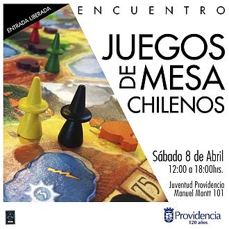 I Encuentro Juegos De Mesa Chilenos