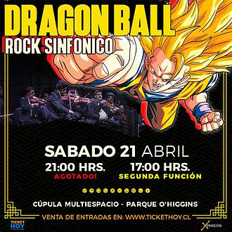 DRAGON BALL ROCK SINFÓNICO