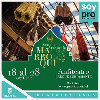 Muestra de Artesanía Marroquí - Parque Bustamante Providencia
