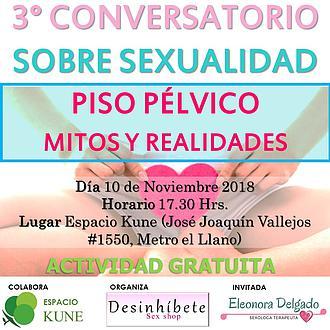 3er CONVERSATORIO SOBRE SEXUALIDAD