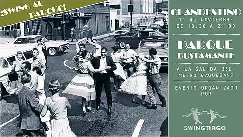 Clandestino de Swingtiago. Ven a bailar swing