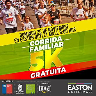 CORRIDA FAMILIAR 5K - Quilicura / Easton Oulet Mall Chile