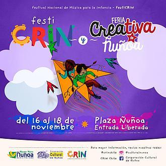 Tercer Festival Nacional de Música para la Infancia (FestiCRIN) y Feria Creativa de Ñuñoa