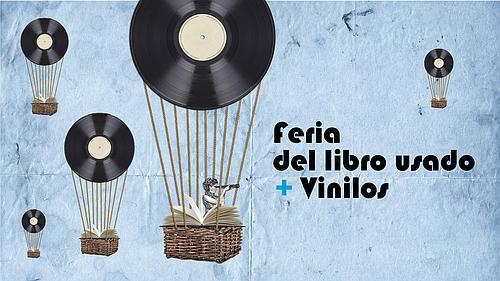 FERIA DEL LIBRO USADO + VINILOS