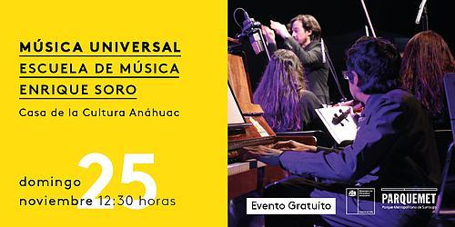 Música Universal en el Parquemet