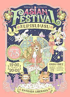 Asian festival · Kurisumasu
